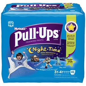 Huggies Pull Ups Night*Time Training Pants Provide Absorbency You Can Rely On To Potty Train Through