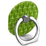 Ring Holder Green Retro Ring Phone Holder Adjustable 360 Degree Rotation Finger Ring