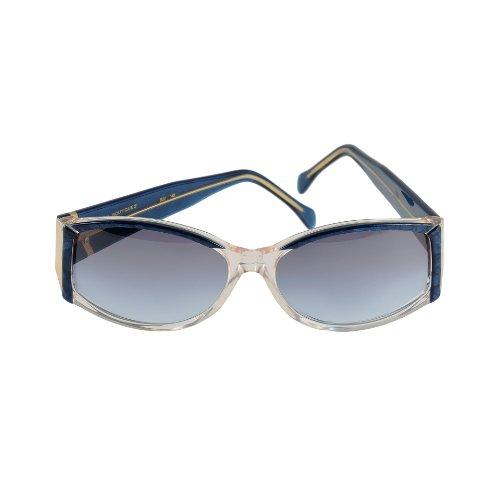 Da Vinci Sunglasses Boutique 3 Col. Blue 55-17-140 Made in - Sunglasses Da Vinci