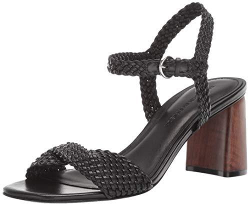 (Sigerson Morrison Women's Darby Heeled Sandal, Black, 36.5 M EU (6.5 US))