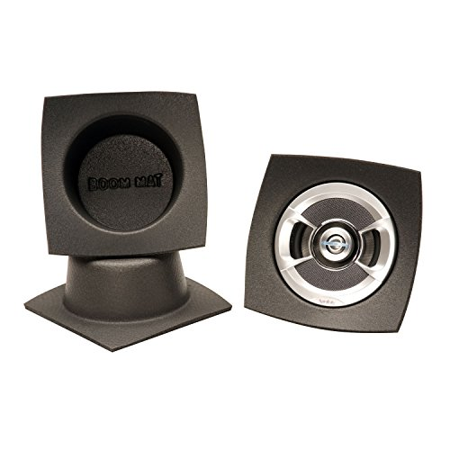 "Design Engineering  DEI 050320 Boom Mat 5.25"" Round Speaker Baffle - Pack of 2"