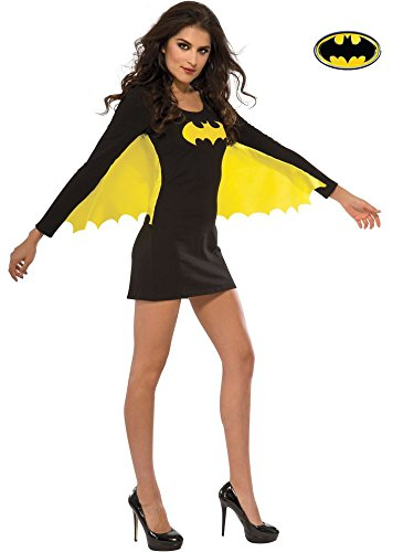 Rubie's 880417-M Women's DC Superheroes Batgirl Wing Dress, Medium, Multicolor -