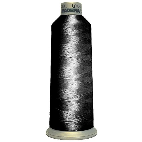 Madeira Polyneon FR Flame Retardant Embroidery Thread (One Size) (Black) - Madeira Bath