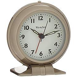Westclox 90010A Metal Big Ben Alarm Clock, Silver
