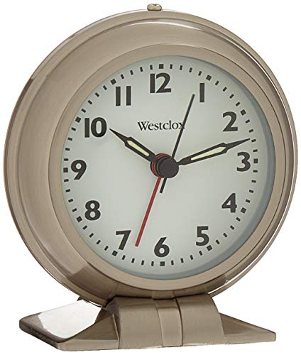 (Westclox 90010A Metal Big Ben Alarm Clock, Silver)