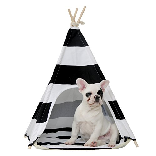 little dove Teepee House Black product image