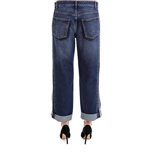 Alexander Bleu Jeans 506286QKM024320 Femme Coton McQueen xqxOCw6S