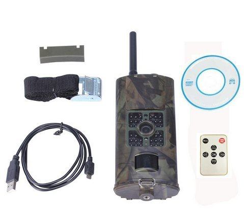 HKCYSEA New HC700G 16MP HD Trail Game & Hunting Camera With Infrared Night Vision IP54 Waterproof GPRS MMS SMTP SMS 0.5S Fast Trigger Time for Outdoor Wildlife Observation and Security by HKCYSEA (Image #3)
