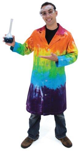 Tie-Dye Lab Coat (small) (Coat Dye Tie Lab)