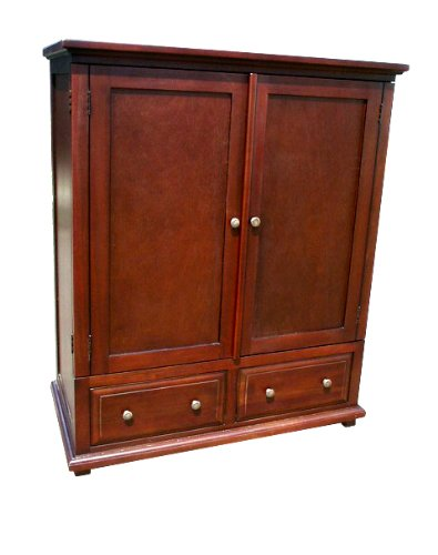 D-Art Collection Java TV Armoire Corner Tv Stand Armoire