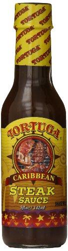 - TORTUGA Caribbean Steak Sauce - 5 oz. - The Perfect Premium Gourmet Gift