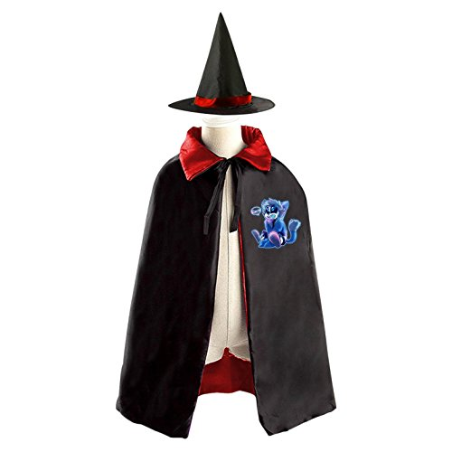 Vampire Costumes Pinterest (DIY UNDERTALE Pinterest Costumes Party Dress Up Cape Reversible with Wizard Witch Hat)