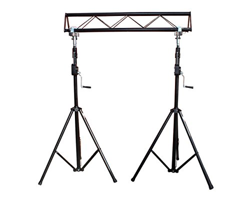 de Triangle Lighting Truss Light Stand with Crank ()