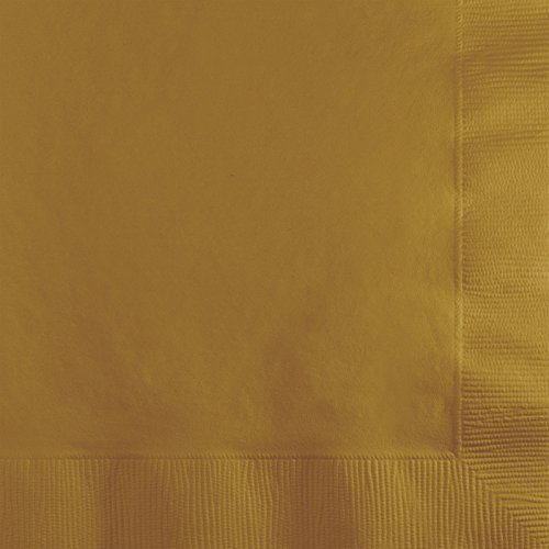 Creative Converting Touch of Color 2-Ply 50 Count Paper Beverage Napkins, Glittering -