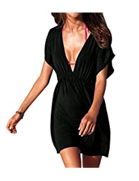 Pinkyee Women's Classic Cover up