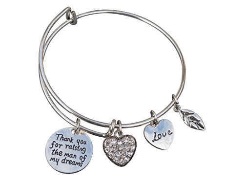 Mother in Law Gift, Mom Bangle Bracelet- Mom Jewelry, Perfect Gift for (Dream Bangle)