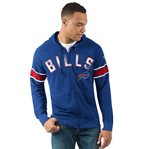 G-III Sports Buffalo Bills Men's Arena Full Zip Hooded Sweatshirt XX-Large ()