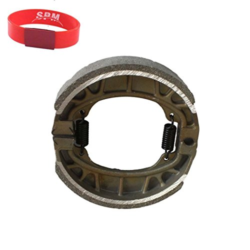 SPM Front Brake Shoes for Honda ATC200 ATC 200 ATC-200 ATC200M ATC200-M ATC200ES ATC200-ES Big Red CT110 CT 110 CT-110 ()
