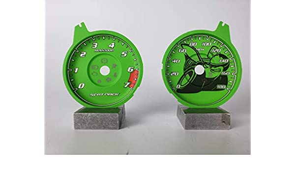 Amazon.com: US Speedo Daytona Edition Scat Pack Charger 180 MPH Go Green: Automotive