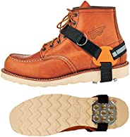 Ergodyne 6315 Ergodyne Strap-On Heel Ice Traction Device, Black