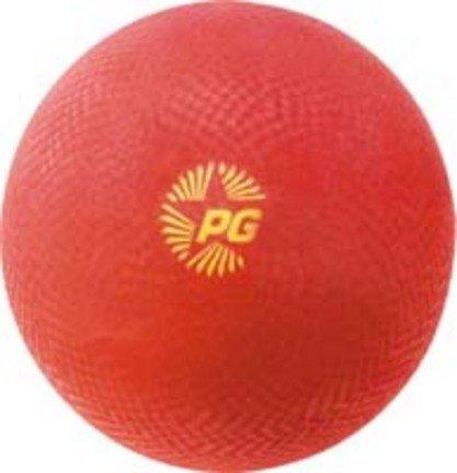 red playground balls