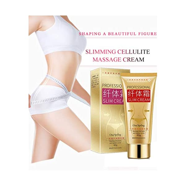 Slim Cream,Professional Weight Loss Slimming Creams,Cellulite Removal Cream,Natural Skin Tightening Cream,Leg Body Waist Belly Fat Burner for Women and Men 41Yyf7 seJL