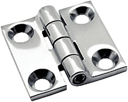 Sea Dog 205140-1 Stainless Steel Butt Hinge Pair