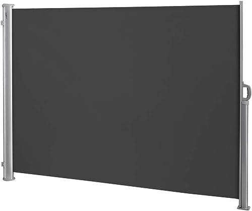 VINGLI 71″ x 118″ Patio Retractable Side Screen Awning
