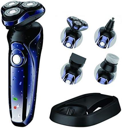 HWUKONG Maquinilla de Afeitar eléctrica para Hombres,de Afeitar ...