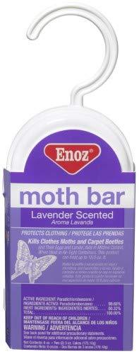 Enoz Moth Bar Lavender Scented, 6.0 OZ (Pack of 24)