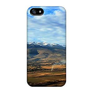 Tpu MQMshop Shockproof Scratcheproof Panoramic View Of Rural Spain Hard Case Cover For Iphone 5/5s