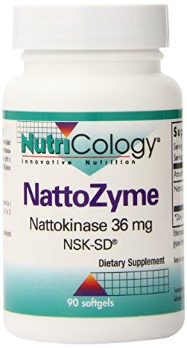 Nutricology NattoZyme, Nattokinase 36mg, NSK-SD,  90 Softgels Review