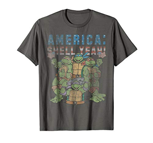- Teenage Mutant Ninja Turtles America: Shell Yeah! T-Shirt