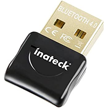Inateck USB Bluetooth 4.0 Low Energy Micro Adapter USB Wireless Bluetooth Dongle, Compatible with Windows XP/ Vista/ 7/ 8/ 8.1, Support A2DP Bluetooth Stereo Playback & EDR
