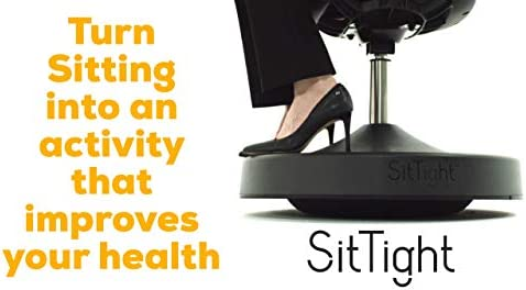 SitTight Balance Chair for Active Sitting – Best Standing Desk Chair – Increases Core Strength, Improves Posture and Burns More Calories Than a Ball Chair