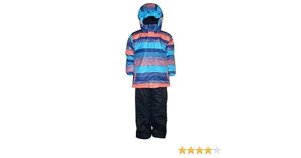 d058e2e39 Amazon.com  Pulse Little Boys  2 Piece Snowsuit Set Dash Stripe (L ...