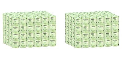 Marcal Pro Toilet Paper, 100% Recycled - 2-Ply, White, 500 Soft & Absorbent Sheets per Roll, 96 Rolls per Case - Green Seal Certified, Bulk Office Bath Tissue 05002 (2-(96 Rolls per Case))