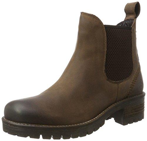 Black Damen 264 484 Chelsea Boots Braun (marrone Leo)