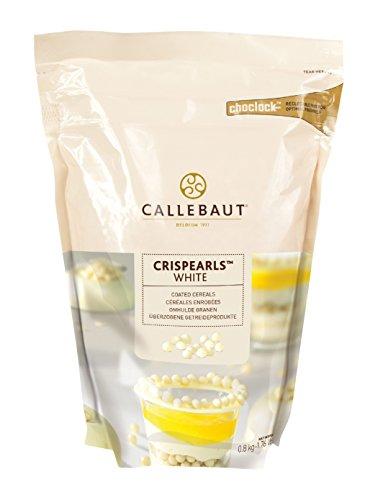 Callebaut White Crispearls, 800 Gram -