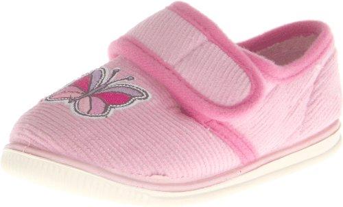 Foamtreads Fuddles Slipper (Toddler/Little Kid),Pink,9 M US Toddler