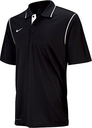 Nike Swim 476281 Mens Gung-Ho Polo, Black-L