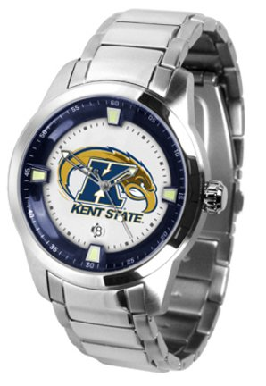 (SunTime Kent State Golden Flashes Titan Steel Watch)