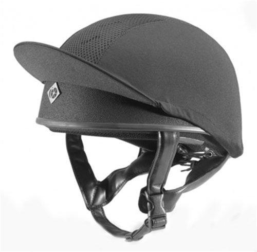 Charles Owen Pro II Skull Helmet - Black 4.0 ()