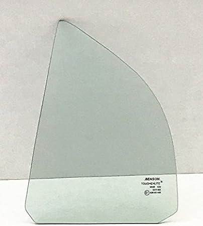 NAGD For 1998-2002 Honda Accord 4 Door Sedan Passenger//Right Side Rear Vent Window Replacement Glass