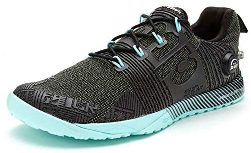 Reebok Women's Crossfit Nano Pump Fusion Cross-Training Shoe Black Cool Breeze (9.5 M US)