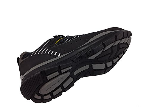 Scarpe Da Lavoro Goodyear / Scarpa Antinfortunistica - S1p Gyshu1512 In Pelle Nabuk E Rete - 39