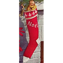 KNITTED CHRISTMAS STOCKING - Vintage 1951 Knitting Pattern Ebook Download