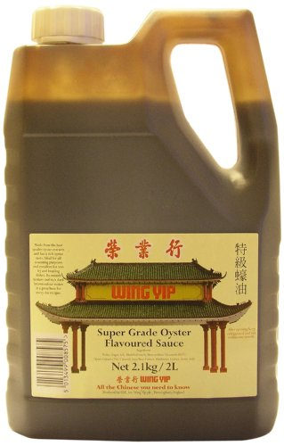 Wing Yip Supergrade Oyster Sauce 2 Litre (Pack of 2)