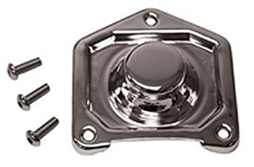 Chrome Plated Solenoid Cover Fits Big Twin 1991/Later, Sportster 1200 models 1991/Later & 883 models 1995/Later