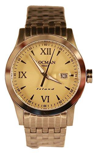 LOCMAN watch ISLAND 0614A04-00SABKB0 Men's